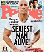 【イタすぎるセレブ達】ドウェイン・ジョンソン44歳、米誌『People』の最もセクシーな男性に!