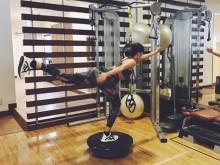 【エンタがビタミン♪】榮倉奈々 ストイックなトレーニングに絶賛の声「すごい体幹!!」