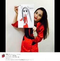 【エンタがビタミン♪】平野ノラは子供にもバカウケ 女児から似顔絵を贈られ「ゲロマブーー!」