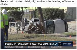 【海外発!Breaking News】12歳少年が飲酒運転 警察の制止無視しカーチェイス 米テキサス州で
