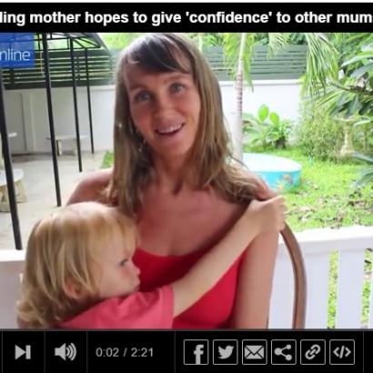 【海外発!Breaking News】4歳息子に授乳する母 「望むなら18歳になっても続ける」(タイ)