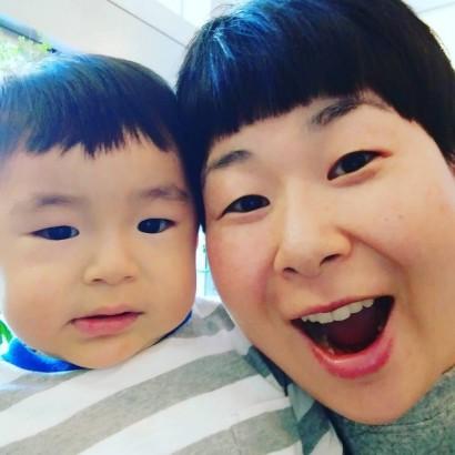 """【エンタがビタミン♪】大島美幸と息子の""""激似""""2ショットがすごい 「親子で癒しでしかない顔」"""