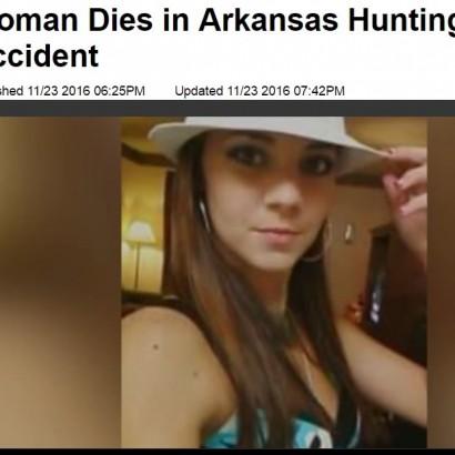 【海外発!Breaking News】狩猟中の誤射また米国で 29歳女性、交際相手とその父親に撃たれ死亡