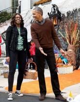 【イタすぎるセレブ達】オバマ大統領のハロウィン、ホワイトハウスでミシェル夫人と「スリラー」踊る<動画あり>
