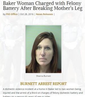 【海外発!Breaking News】家庭内暴力が止まらない41歳娘、母親に重傷を負わせ逮捕(米)