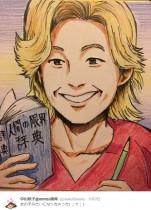 【エンタがビタミン♪】中川翔子、カズレーザーの似顔絵を披露 「女の子みたいになっちゃった」と反省も