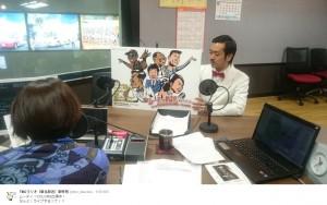 ライブ告知するムーディ勝山(出典:https://www.instagram.com/akirakawa)