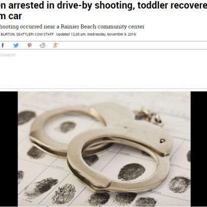 【海外発!Breaking News】2歳わが子を車に乗せ 米シアトルで16歳少年、車窓から発砲
