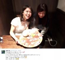 """【エンタがビタミン♪】大島優子のバースデーケーキに""""ゆうゆ"""" 「昔、居なかったっけ?」の声"""