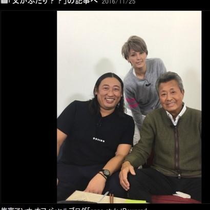 【エンタがビタミン♪】ロバート秋山、梅宮辰夫・アンナ父娘と家族のように共演 梅宮パパの回復喜ぶ