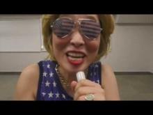 【エンタがビタミン♪】ヒラリー芸人・石井てる美、「自腹」でNYへ大統領選見届け 平野ノラ「ヒラリーがヒラリーに会いに行く!」