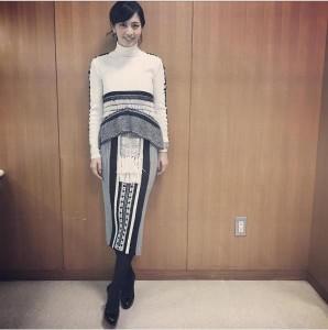 『アッコにおまかせ!』で妊娠を発表した安田美沙子(出典:https://www.instagram.com/yasuda_misako)