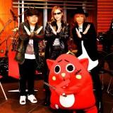 【エンタがビタミン♪】YOSHIKI、ドラムで『紅』叩くにゃんごすたーを公認 「打倒ふなっしーだね」