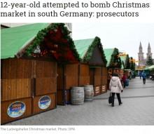 【海外発!Breaking News】ドイツのクリスマスマーケットテロ イラク系12歳少年が事前爆破計画に失敗していた