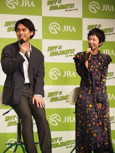 「柳楽くんが絶対ふざけている!」と木村カエラ