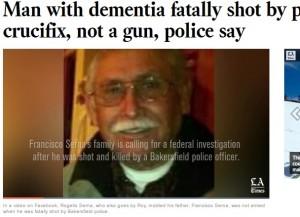 【海外発!Breaking News】徘徊中の認知症男性、警官に撃たれ死亡 「ポケットから手を出せ」の命令わからず(米)