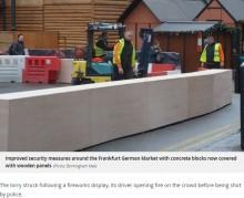 【海外発!Breaking News】「クリスマスマーケットは狙われる」 イギリスは開催前にバリアを設置していた