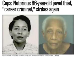 【海外発!Breaking News】60年間宝石の万引きを繰り返した86歳女 またしても逮捕(米)