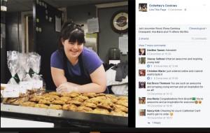 """【海外発!Breaking News】""""不採用""""続きだったダウン症の女性 自らクッキー店をオープン(米)"""