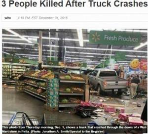 【海外発!Breaking News】運転手はやはり高齢者 米・ウォルマート店内に車が突っ込み5名死傷(米)