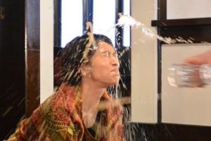 【エンタがビタミン♪】カフェラテ9杯浴びた水野美紀「これはすごかった」