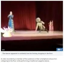 【海外発!Breaking News】民族舞踊レズギンカのダンサー、ステージで心臓発作を起こし死亡(露)