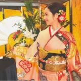 """【エンタがビタミン♪】佐々木希、新年『ぐるナイ』ゴチに出演 艶やかな""""着物姿""""に「これぞ日本美人」"""