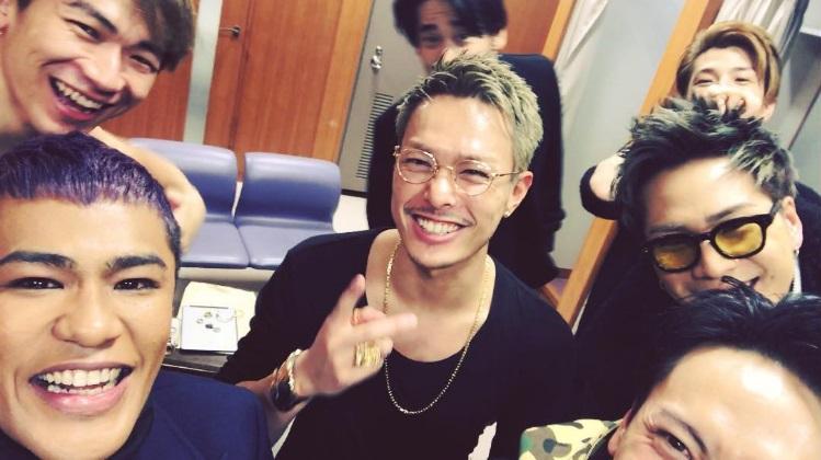 笑顔の三代目JSB(出典:https://www.instagram.com/elly24soul)