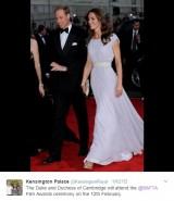 【イタすぎるセレブ達】キャサリン妃、英国アカデミー賞出席予定も「他の女優が見劣りする」と懸念の声(英)