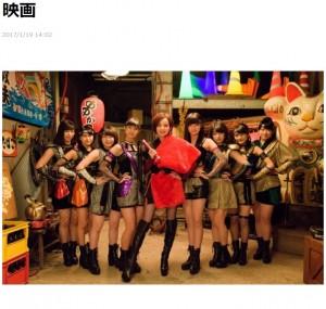 映画『JKニンジャガールズ』に出演するベッキー(出典:http://lineblog.me/becky)