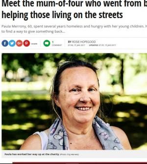 【海外発!Breaking News】4人の子供を抱えホームレスだったシングルマザー ホームレス支援で社会に恩返し(英)
