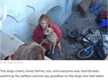 【海外発!Breaking News】「犬たちの幸せのために…」ホームレスカップル、心の支えの犬たちを涙ながらに手放す(米)