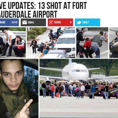 【海外発!Breaking News】フロリダ州空港の銃乱射、容疑者はイラク派遣元兵士 「IS戦闘員になれ」幻聴も