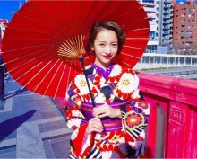 """【エンタがビタミン♪】板野友美、着物姿で魅了 """"和""""のオーラに海外からも称賛届く"""