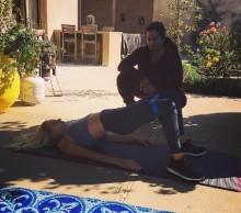 【イタすぎるセレブ達】レディー・ガガ、自宅にテント設置 スーパーボウルのショーに向けてトレーニングの日々