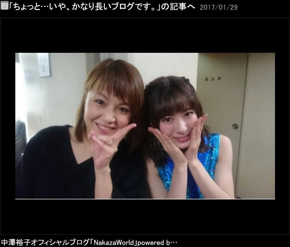 中澤裕子と生田衣梨奈(出典:http://ameblo.jp/nakazawa-yuko)