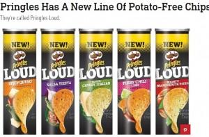【海外発!Breaking News】米プリングルズ、ジャガイモ使用ゼロの「ポテト風チップス」発売へ
