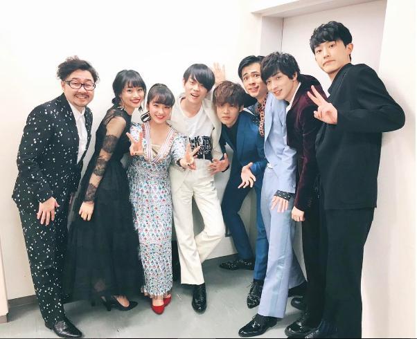 映画『キセキ』初日舞台挨拶に登壇した面々(出典:https://www.instagram.com/yunataira_official)