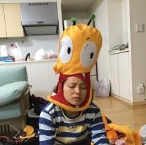 【エンタがビタミン♪】金田朋子 「おしりかじり虫」の被り物を夜なべして完成 疲労困憊でグッタリ