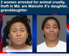 【海外発!Breaking News】マルコム・Xの娘と孫娘、トラック盗難および動物虐待につき逮捕(米)