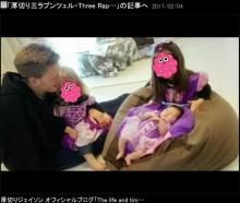"""【エンタがビタミン♪】厚切りジェイソン、愛娘3人の""""ラプンツェル""""姿が「可愛過ぎて」ファンほっこり"""