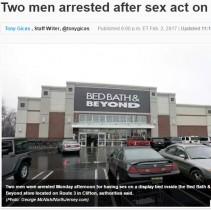 【海外発!Breaking News】人気雑貨店ベッドで感染力の強い疥癬を患う男が性行為 警察官らとばっちり(米)