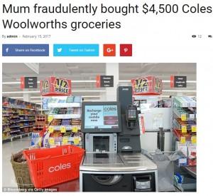 【海外発!Breaking News】手製のバーコードを使ってセルフレジでお買い上げ 詐欺罪で女が逮捕(豪)
