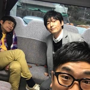 博多華丸・大吉と黒瀬純(出典:https://www.instagram.com/kurojun9610)