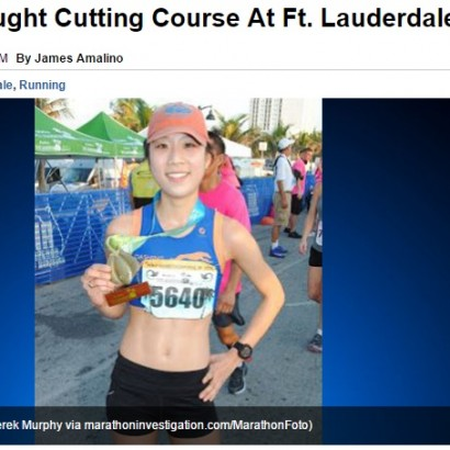 【海外発!Breaking News】銀メダル剥奪 韓国系女性ランナー、ハーフマラソンでコースをショートカット(米)