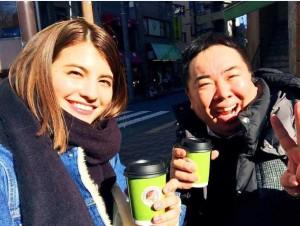 マギーとドランク塚地(出典:https://www.instagram.com/maggymoon)