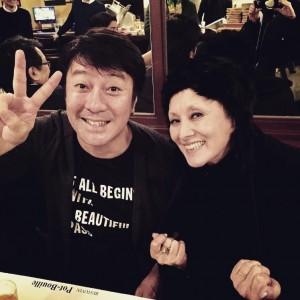 【エンタがビタミン♪】夏木マリ&加藤浩次 レアな2ショット公開 加藤の交友関係の広さに驚き