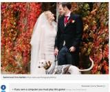 【海外発!Breaking News】骨と皮だけわずか3kg 捨てられた仔犬が新しい飼い主のもと回復、結婚式に参加(英)