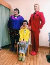 【エンタがビタミン♪】三戸なつめ、メイプル超合金と3ショット 「なつめちゃんと安藤さん、まるで姉妹!」