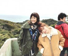 【エンタがビタミン♪】梅田彩佳と宮澤佐江 AKB48同期が共演「一緒にいてポカポカ」「幸せになってもらいたい」